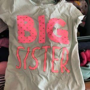 Big Sister T Shirt 💗